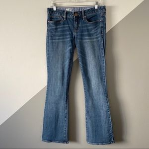 Gap 28 / 6 Sexy Boot Cut Jeans Low Rise